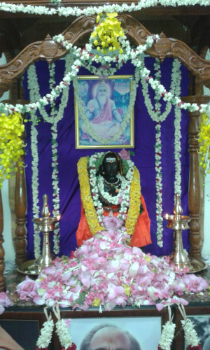 Shankara_altar
